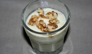Crème d'endives au Saint Agur et aux noix