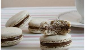 Macarons au nutella
