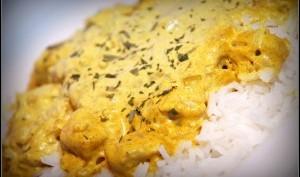 Sauté de poulet au curry