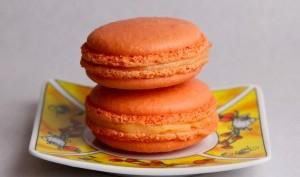 Macaron à la fleur d'oranger