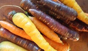 Légumes rôtis au thé lapsang souchong