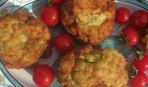 Boules croustillantes de courgettes et pommes de terre