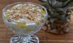 Ananas, crème de coco aux perles du Japon