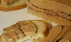 Foie gras au Cacao
