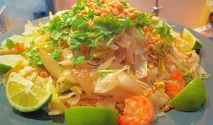 Pad thaï crevette