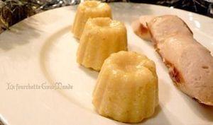 Polenta au foie gras