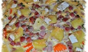 Quiche endives / carottes/ jambon / camembert
