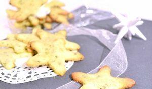 Cookies étoilés au thé à la mirabelles