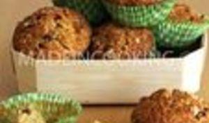 Mini cake aux fruits confits ou muffins aux fruits confits