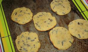 Les cookies moelleux