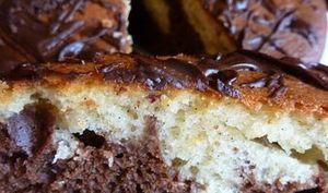 Gâteau aux Deux Chocolats
