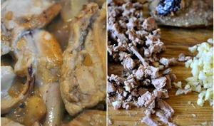 Lapin rôti et son saupiquet