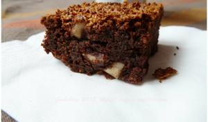 Brownie chocolat et noix d'Amazonie