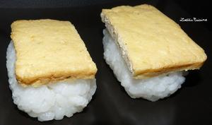 Sushis veggies aux filets de tofu à la japonaise