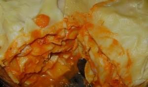 Lasagnes légères à la dinde et au chèvre frais