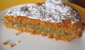 Gâteau coco, amandes et citron vert