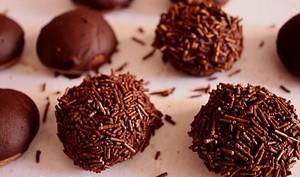 Hérisson « sablé au chocolat recouvert de ganache »