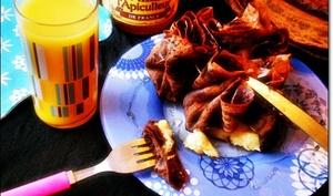 Crêpes en Aumônières, Chocolat, Banane, Miel