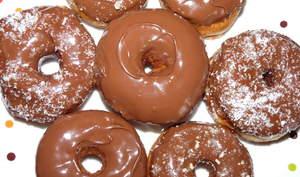 Donuts chocolat - nutella