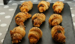 Croissant Tomate – Jambon – Emmental