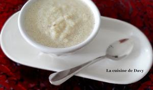 Semoule au lait à la vanille
