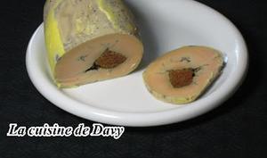 Ballotin de foie gras au pain d'épice