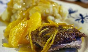 Canard à l'orange Grande Tradition