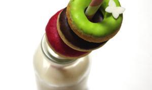 Mini-donuts de Mardi Gras