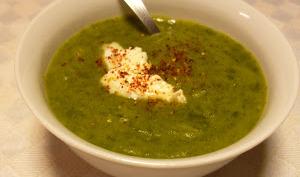 Soupe aux fanes de radis ou Soupe anti-gâchis