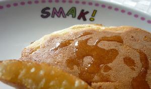 Pancakes au Yaourt et Miel de châtaignier