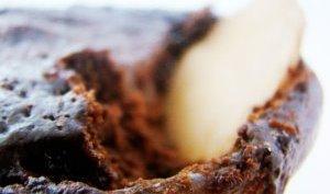 Gateau choco-minute et mousse tiede mascarpone vanillee