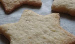 Biscuits sablés de Noël aux épices et à l'orange