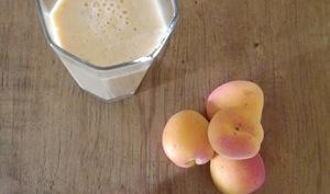 Milkshake à l'abricot