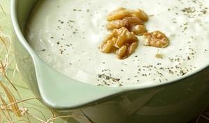 Velouté de poireaux et pommes de terre