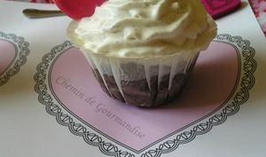 Cupcakes chocolat gingembre & Chantilly