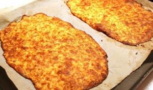Pâte à pizza base chou fleur, sans gluten
