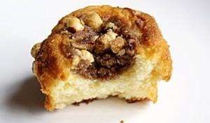 Muffins confiture de lait et noisettes