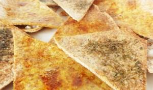 Des chips au four