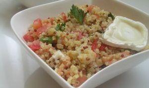 Salade de quinoa gourmande