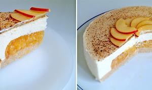 Cheesecake lime pêche