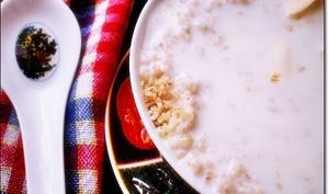Couscous à la semoule d'orge au petit lait