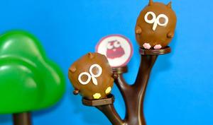 Deux Chouettes Cake pops...