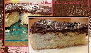 Gâteau lorrain au chocolat