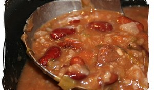 Soupe saveur chili