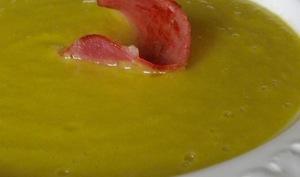 London Particular, soupe anglaise aux pois cassés et bacon