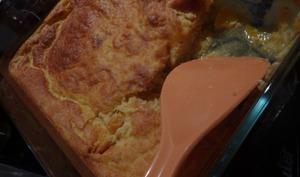 Soufflé au potiron et poulet grillé