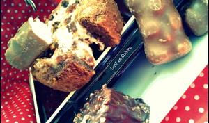 Fondant Chocolat au lait & Rocher praliné au Coeur d'Ourson Guimauve