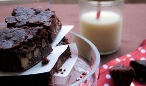 Brownie aux deux noix
