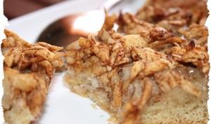 Tarte de gâteau aux pommes