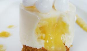 Un cheesecake qui se prenait pour une tarte citron meringuée